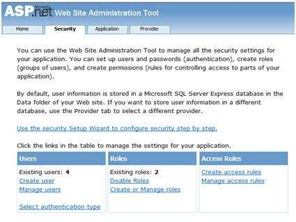tutorial asp net security asp net security
