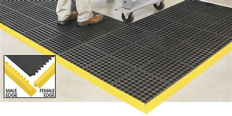 interlocking floor mats modular mats in stock uline ca