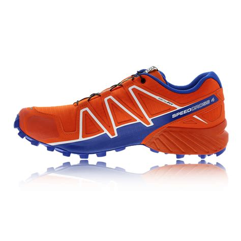 water resistant trail running shoes salomon speedcross 4 mens orange water resistant running
