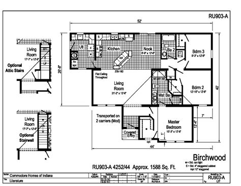commodore homes floor plans grandville le modular ranch birchwood ru903a find a