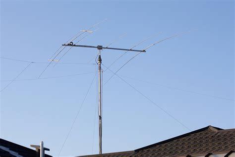 11m tiltover antenna mast radio zl2al