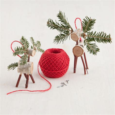 martha stewart easy christmas crafts tree deer craft martha stewart