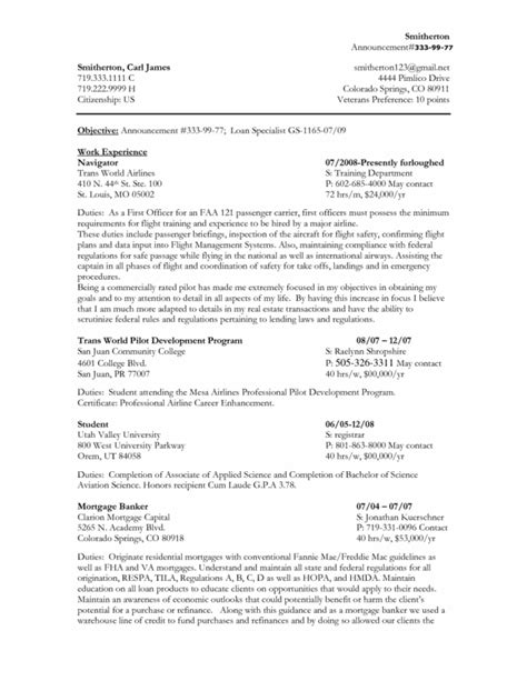 federal resume template word federal resume templates resume sle federal resume