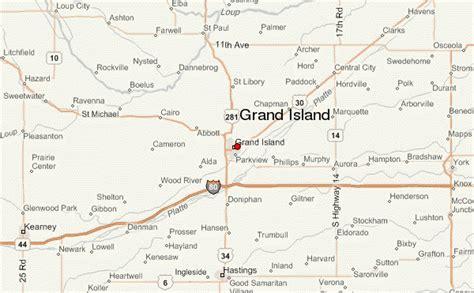 map of grand island grand island location guide