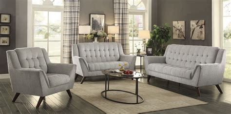living room furniture price baby dove gray living room set from coaster coleman furniture