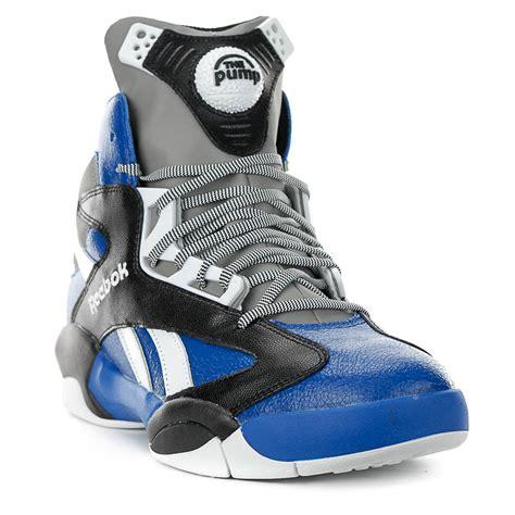 shaq shoes reebok classic shaq attaq team royal black shoes