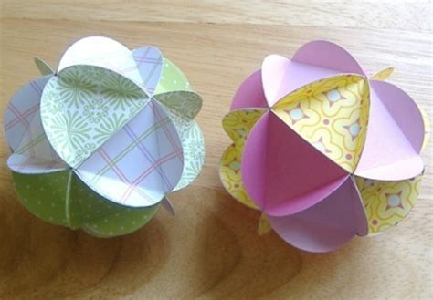 How To Make Paper Globe - paper globes thriftyfun