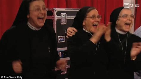 new voice judges 2014 informationdailynews com the voice italy s judges stunned by nun s version of