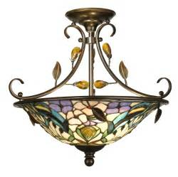 semi flush mount light fixtures dale th90212 peony semi