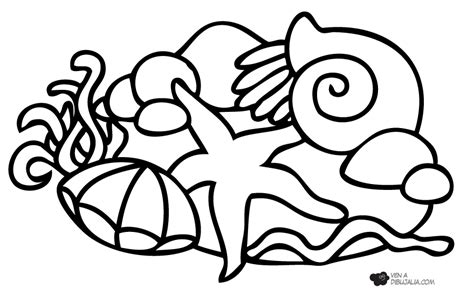 imagenes de animales marinos para imprimir animales fondo marino para colorear imagui