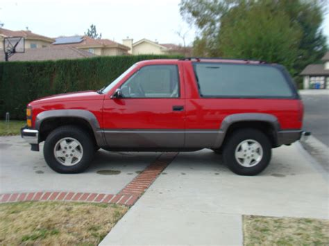 1992 chevrolet blazer 2 door 1993 1994 1995 1996 1997 1998 tahoe