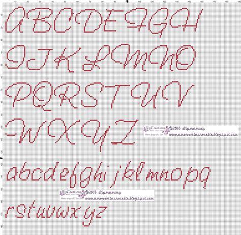 ricamo lettere punto croce amorevitacrocette vari alfabeti a punto croce