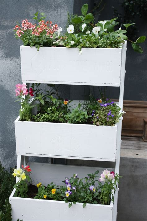Planter Box Flowers by An Upcycled Wooden Planter A Journey From Pine