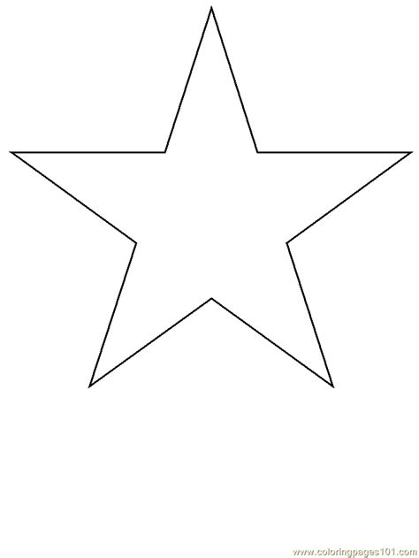 free moon and a star coloring pages
