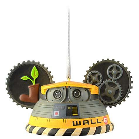 your wdw store disney ears ornament wall e limited
