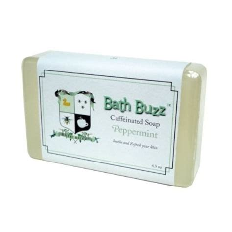 Caffeinated Shower Soap Perks You Up by Bath Buzz Caffeinated Soap Bath Buzz
