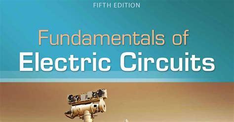 Fundamentals Of Electrics Circuits 5th Edition Charles K fundamentals of electric circuits by charles