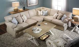 Sectional Sofa Images Two Lanes Classic Slipcovered Sectional Sofa Haynes Furniture Virginia S Furniture Store