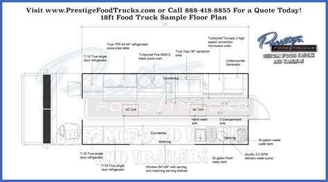 food truck floor plans custom food truck floor plan sles prestige custom food truck manufacturer