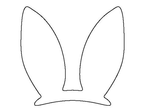 printable ear images 25 best ideas about easter bunny ears on pinterest