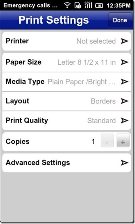 epson printer app for android epson iprint app for android takes care of all your printing needs