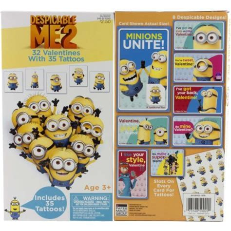 despicable me valentines despicable me 2 minions valentines day cards holidays