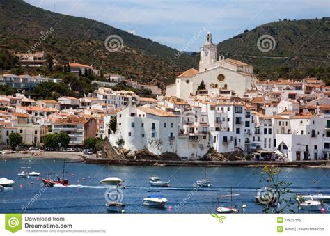 Mediterranean House Plan cadaques spain royalty free stock photo image 10625115