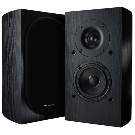 pioneer sp bs22lr 4 quot andrew jones 2 way bookshelf speaker pair