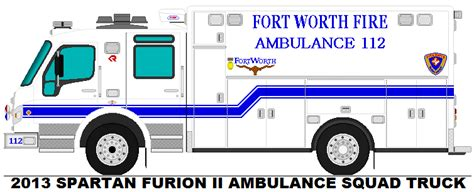 rescue fort worth fort worth rescue ambulance 112 by misterpsychopath3001 on deviantart