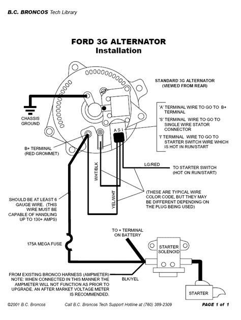 Non Standard 3g Alternator Upgrade? | Mustang Forums at