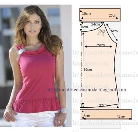 moldes translate english moldes moda por medida pola baju simpel pinterest