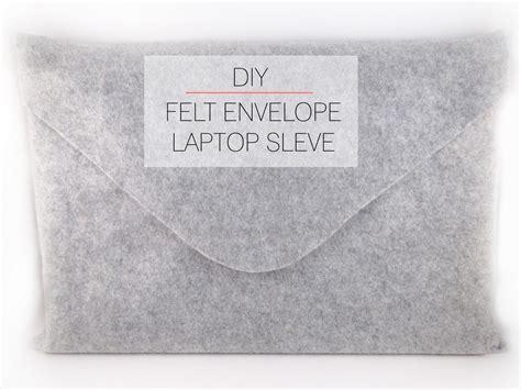 How To Fold An Envelope by Cafe Craftea Diy Felt Envelope Laptop Sleeve