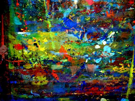 acrylic painting jungle jungle boogie 130103 2 painting by aquira kusume