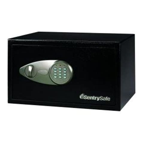 sentrysafe 1 cu ft steel security safe with electronic