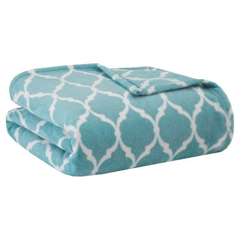 Madison Park Super Soft Microlight Plush Blanket Ogee : Target