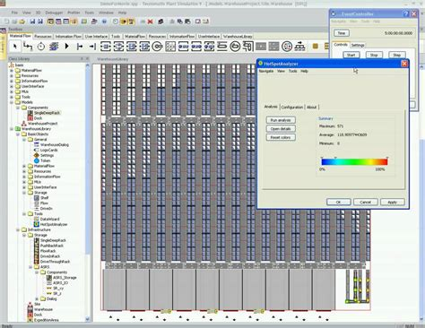 plant layout simulation software part 9 9 run model plant simulation warehousing