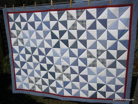 decke quilten mit nähmaschine pinwheel quilt aus alt mach neu 187 streifen