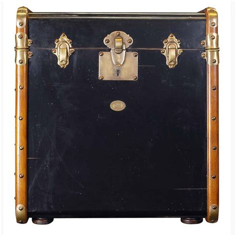 buy stateroom trunk end table black 22 inch decorating