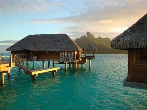 bora bora bungalow resorts overwater quot bungalow quot with view of bora bora picture of