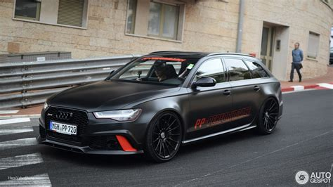 Audi Rs Avant by Audi Rs6 Avant C7 2015 By Pp Performance 25 Avril 2017