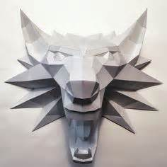 Witcher 2 Papercraft - the witcher witcher medallion ver 2 free papercraft