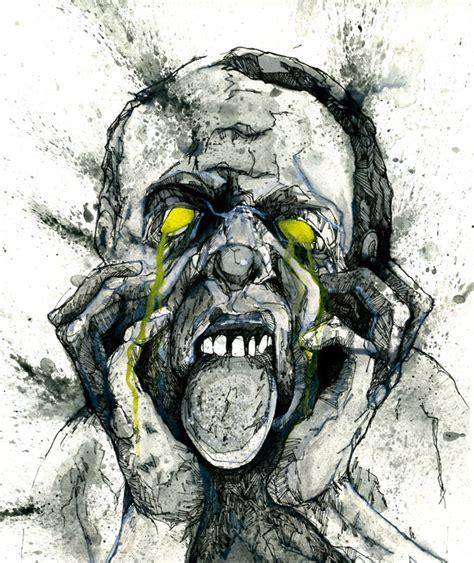 imagenes de dibujos a lapiz de zombies dibujos de zombies taringa