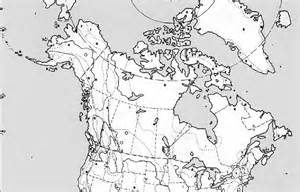 blank outline physical map of canada