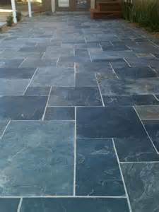Slate Patio 17 Best Ideas About Slate Patio On Paving