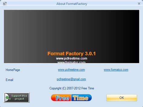format factory exe 3 0 1 format factory 3 0 1 phần mềm chuyển đổi qua lại c 225 c định
