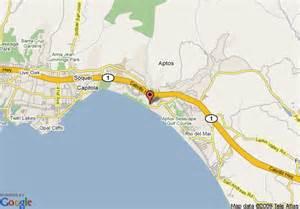 aptos california map aptos ca map image search results