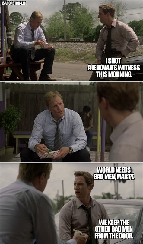 True Detective Meme - meme serie tv i sarcastici 4 sarcasmo vignette