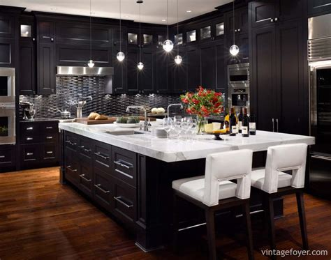 black kitchens cabinets 153 traditional and modern luxury kitchens pictures