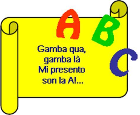 filastrocca lettere alfabeto filastrocche vocali e alfabeto