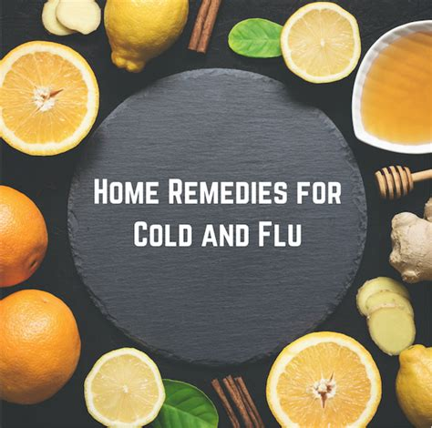surviving cold flu season 5 home remedies for cold and